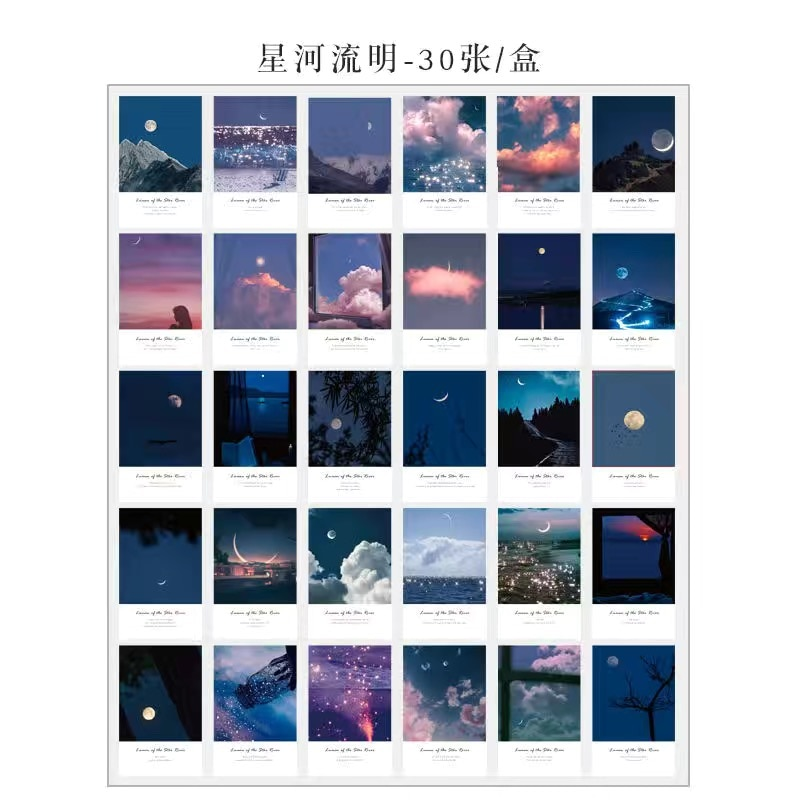 3DIY Hand-made Ins Travel Art Wall Sticker Home Decoration Post-card Greeting Card For Living Room Bedroom  - buy with discount