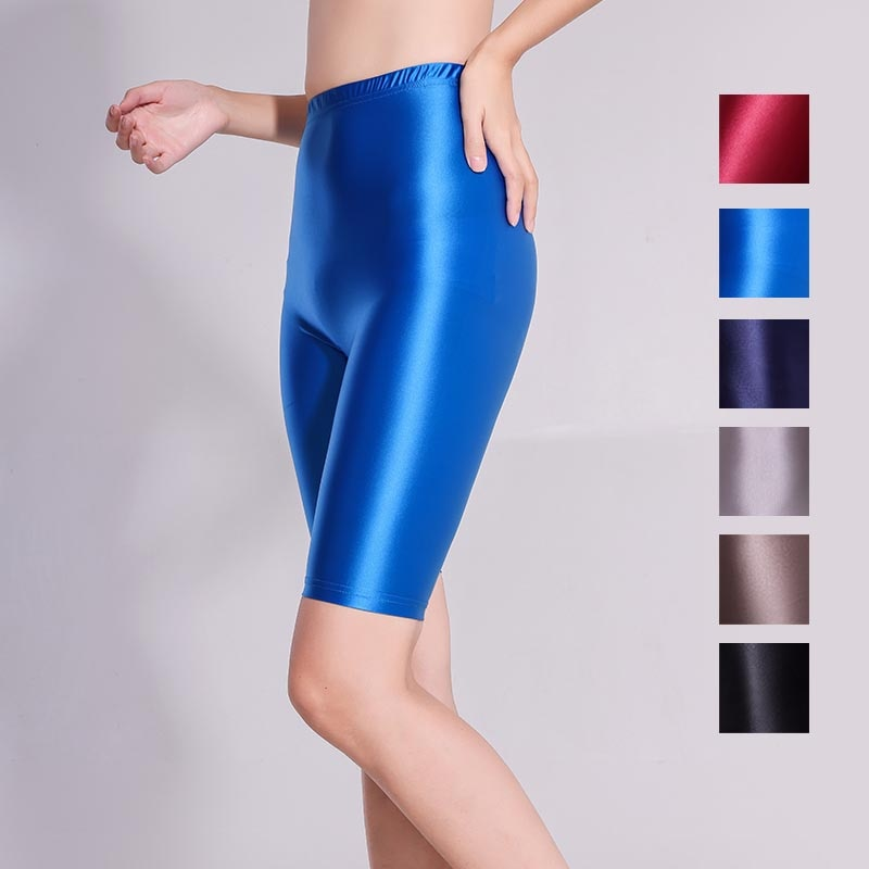 XCKNY Xckny 5-point bottomed fitness pants quick drying pants shiny skinny pants sexy high waist glo