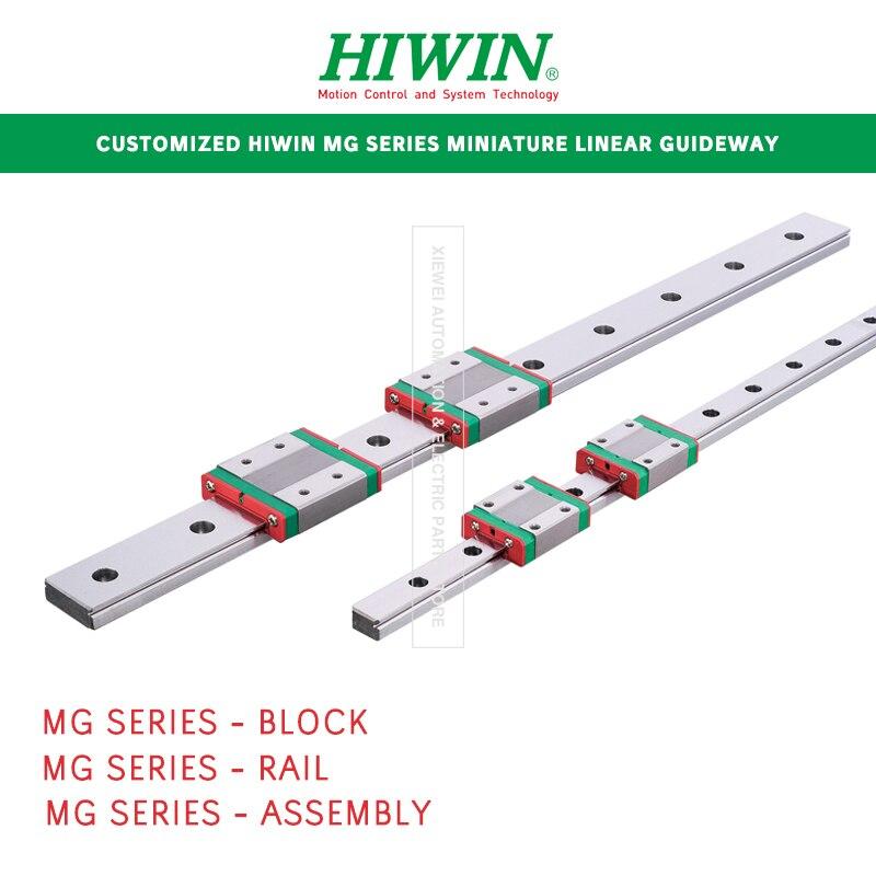 HIWIN MG سلسلة مصغرة دليل خطي مخصص 2