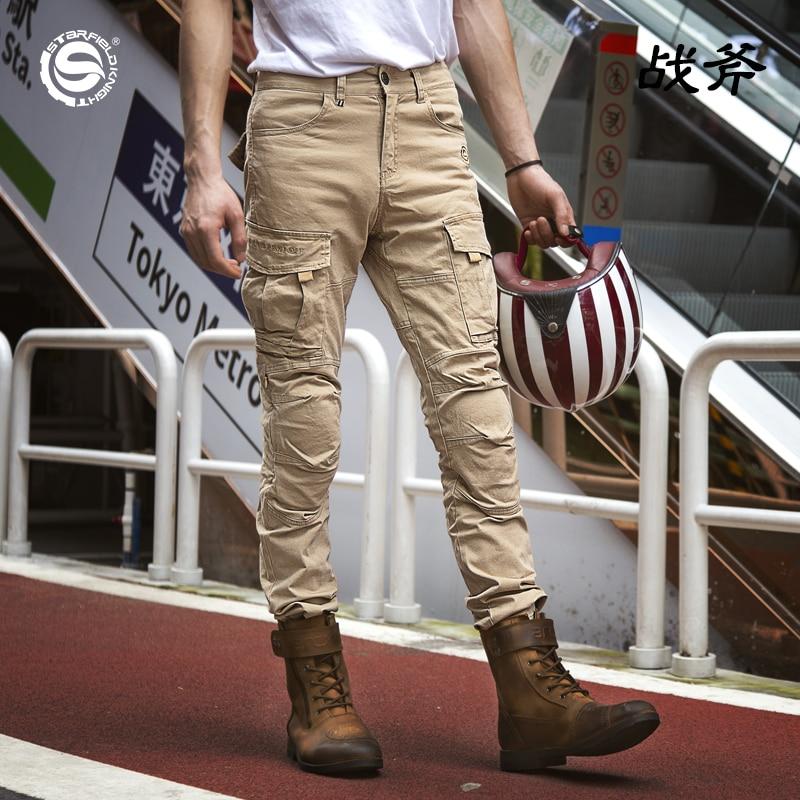 SFK черные Хаки Серые Стильные крутые женские мужские мотоциклетные брюки комбинезоны с CE защитой броня/Мотокросс гоночные аксессуары