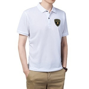 2021 Breathable And Comfortable Short Sleeved Men's POLO Shirts Men's Solid Color POLO Shirts