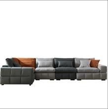 Nordic cloth sofa combination modern corner latex sofa sofa set living room furniture  modern couch