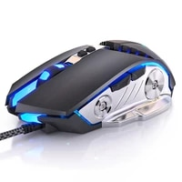 g3pro gaming mouse 3200dpi adjustable silent mouse optical led usb wired computer mouse notebook game mice for gamer home office