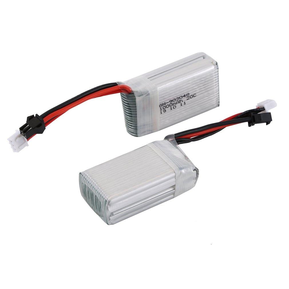 Stock 7,4 V 1000mAh recargable batería para Dron batería Lipo batería de litio RC batería de León para Udi U818S/U842 RC helicóptero conjunto