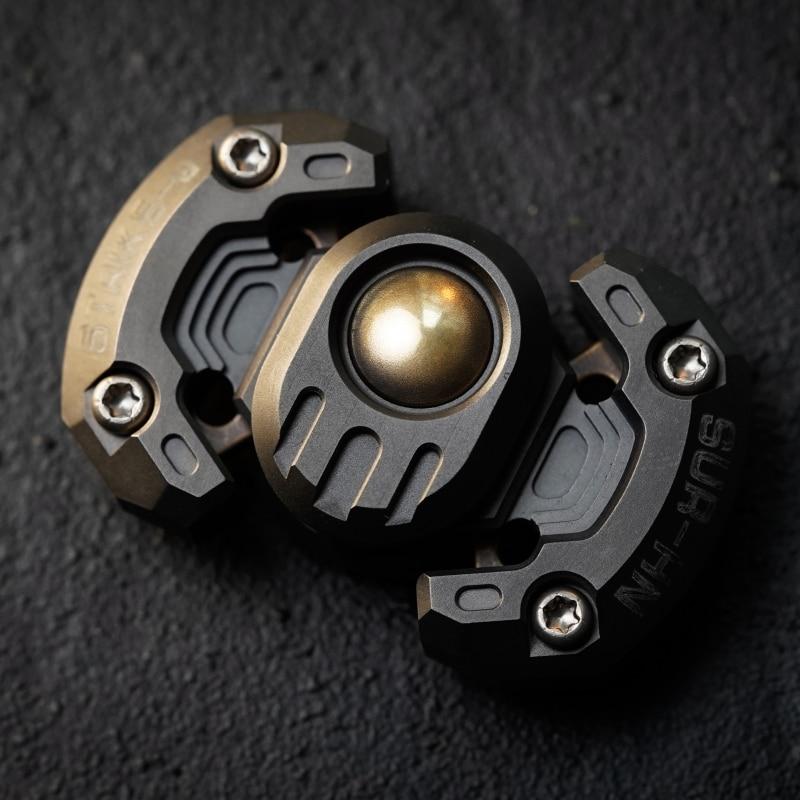 EDC Stainless Steel Fingertip Gyro Decompression Toy Robot Modeling Fingertip Toys