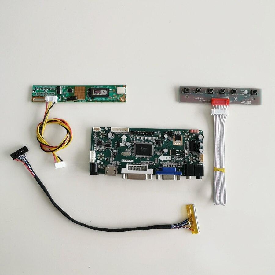 """Para LP150X09-A5/A5K1 panel para monitor LCD LVDS 30Pin CCFL HDMI DVI VGA M NT68676 controlador de pantalla coche tarjeta 1024*768 15 """"DIY kit"""