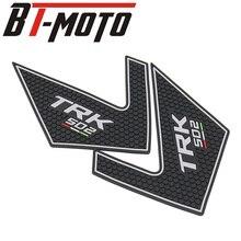Autocollant demblème accessoires moto   Livraison gratuite, autocollant en forme de Real Tank Pad, convient pour Benelli TRK502 TRK 502