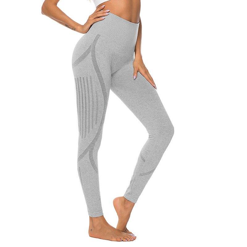 Mallas atléticas deportivas para mujer, pantalones de Yoga Shark Branca, entrenamiento en gimnasio, cintura alta, secado rápido, botín Sexy para correr