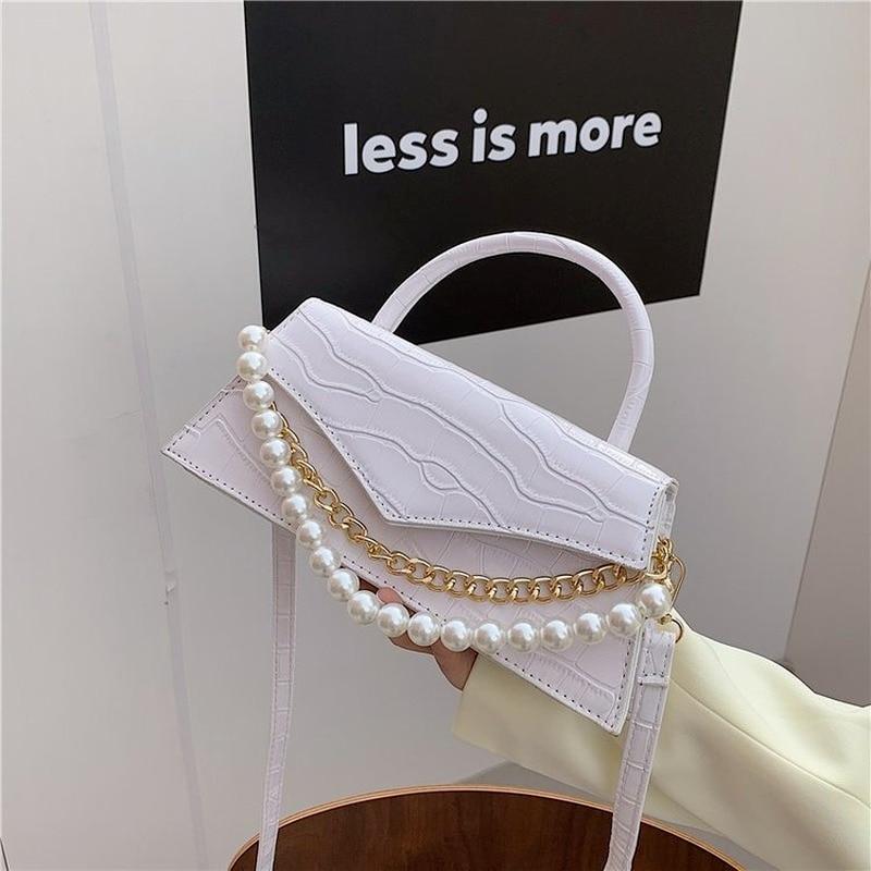 2021 Top Luxury Designer Brand Bags High-quality Female Bags  Elegant Pearl Travel Bag Super Mini PU