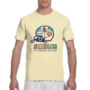Doraemon printing social t shirt funny boys/girls tops t shirt poster ladies/mens t shirt