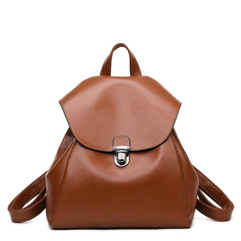 2020 Fashion Women Backpack High Quality PU Leather Backpacks for Teenage Girls Female School Shoulder Bag Bagpack mochila