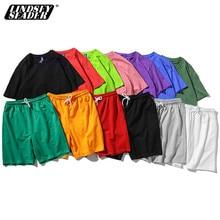 T-Shirts ensemble court hommes femmes à manches courtes basket-ball Skate Sport T-shirt Harajuku décontracté T-Shirts grande taille hauts T-Shirts 5XL
