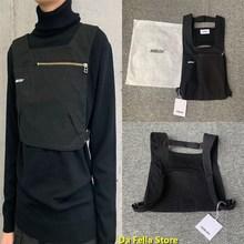 Sacs à dos embuscade 2020 hommes femmes toile embuscade sacs Hip Hop japon rue Culture sac poitrine deux poches Logo imprimer sac à dos