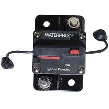 Iztoss 12V-48V 30-250A Hi-Amp Circuit Breaker with Manual Reset 3/8 Stud Circuit Breakers for Boat Solar Project Motorhome
