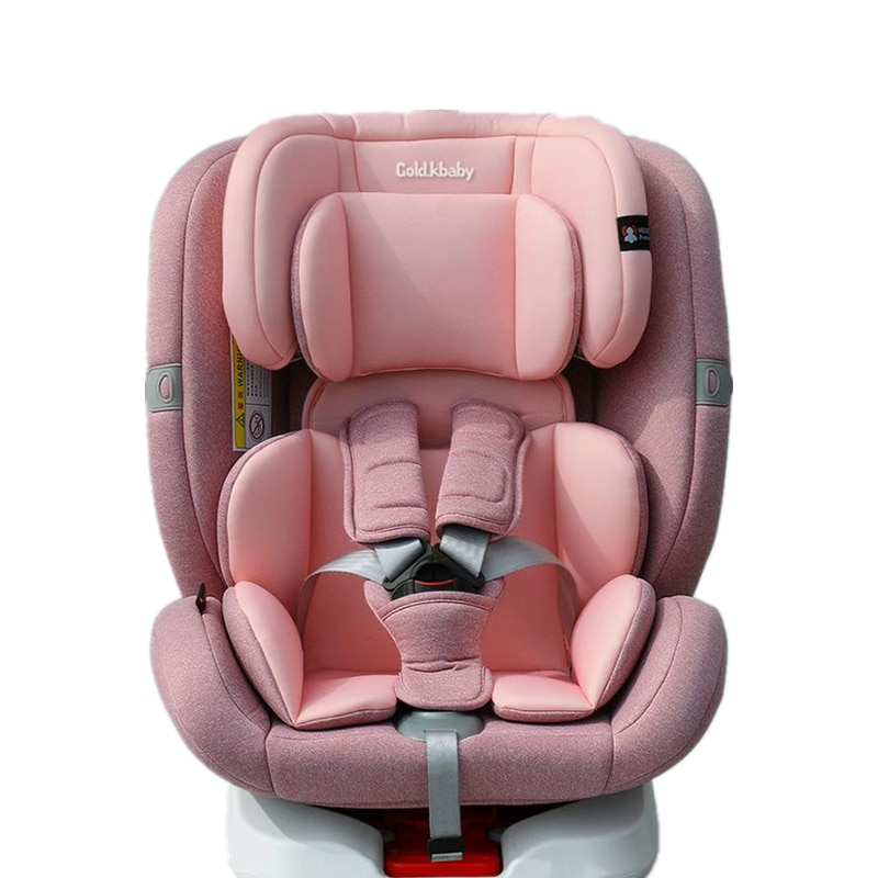 360 degree rotatable child safety seat car seat with 0-12 years old baby can sleep or seat in