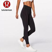 Lululemon- Super Soft Hip Up Leggings Fitness Pants Women Stretchy Sport Anti-sweat High Waist Gym A