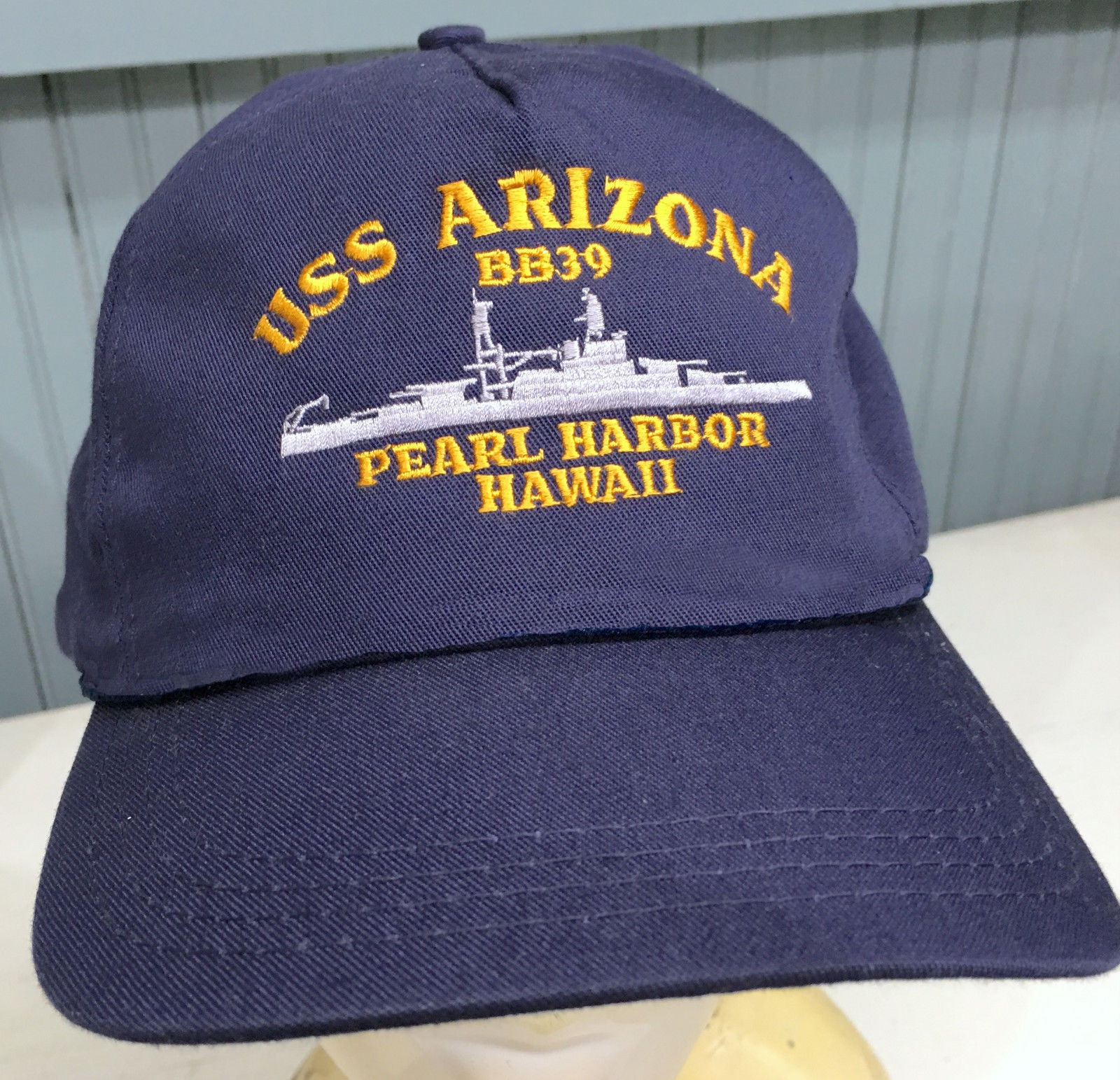 sadao asada from mahan to pearl harbor Printed USS Arizona Pearl Harbor Snapback Baseball Cap Hat Original