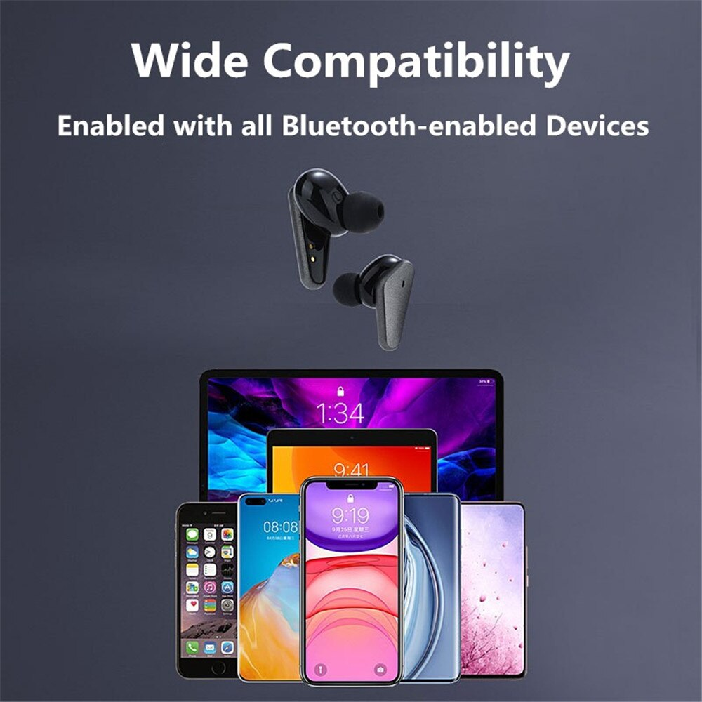 TWS Wireless Bluetooth Earphone Waterproof Sports Headphone 9D Hifi Stereo Mini Earbuds Noise Canceling Headsets With Microphone enlarge