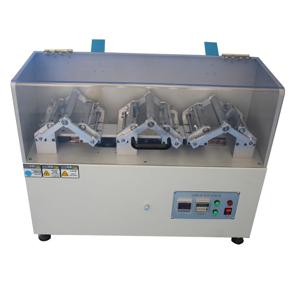 Máquina de prueba de flexión de suela de cuatro puntos, máquina de prueba de flexión de suela