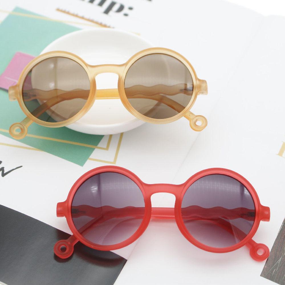 2021 New Fashion Retro Round Frame Anti-blue Light  Kids Sunglasses UV 400 Protection Eyewear for Ch