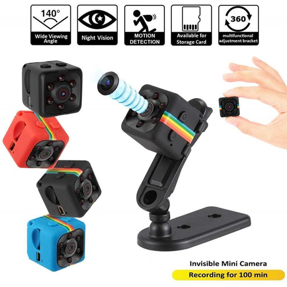 SQ11 Mini Camera 1080P DVR Micro Camera Night Vision Camcorder Motion Sensor Action Camera Sport DV Video Small Cam 720 960P