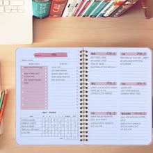 Bäume 2022 A5 Täglich Wöchentlich Planer Agenda Notebook Wöchentlich Ziele Gewohnheit Zeitpläne Schreibwaren Büro Schule Liefert