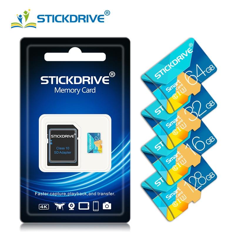 Precio más bajo de la clase 10 tarjeta de memoria de 128gb 32gb 64gb cartao 16gb de memoria de 8gb tarjeta sd micro 256gb usb flash mini tarjetas TF
