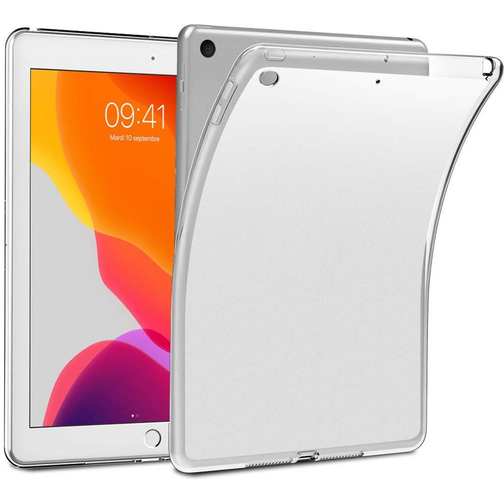 Más Vendidos producto en 2020 Ultra claro transparente de silicona suave cubierta de la caja del TPU para ipad 10,2 7th 2019 venta al por mayor