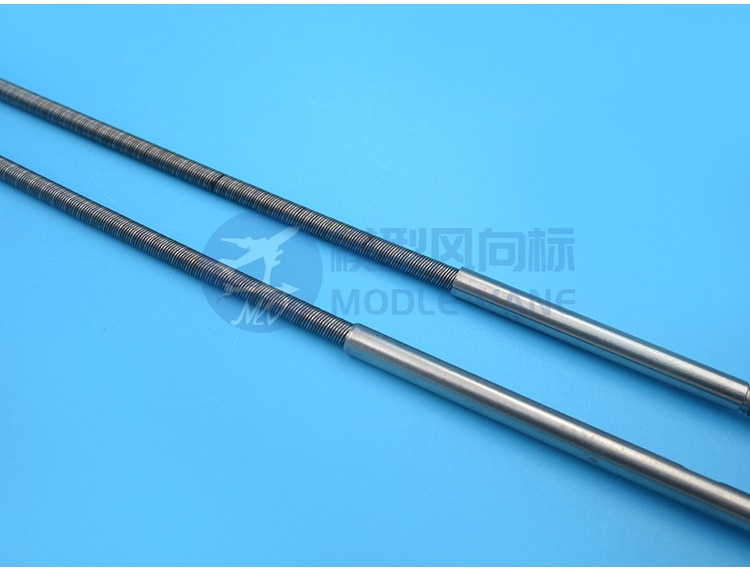 1PC 3.18 to 4mm Flexible Shaft L350mm Transmission Axle Metal Integrated Drive Shaft for RC Brushless Electric Boats Shafting enlarge