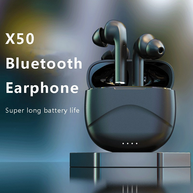 New Arrival TWS X50 Wireless Earphones Bluetooth Large Battery Charger Box Bluetooth5.0 For Realme X2 Pro X50 Pro 6 6i