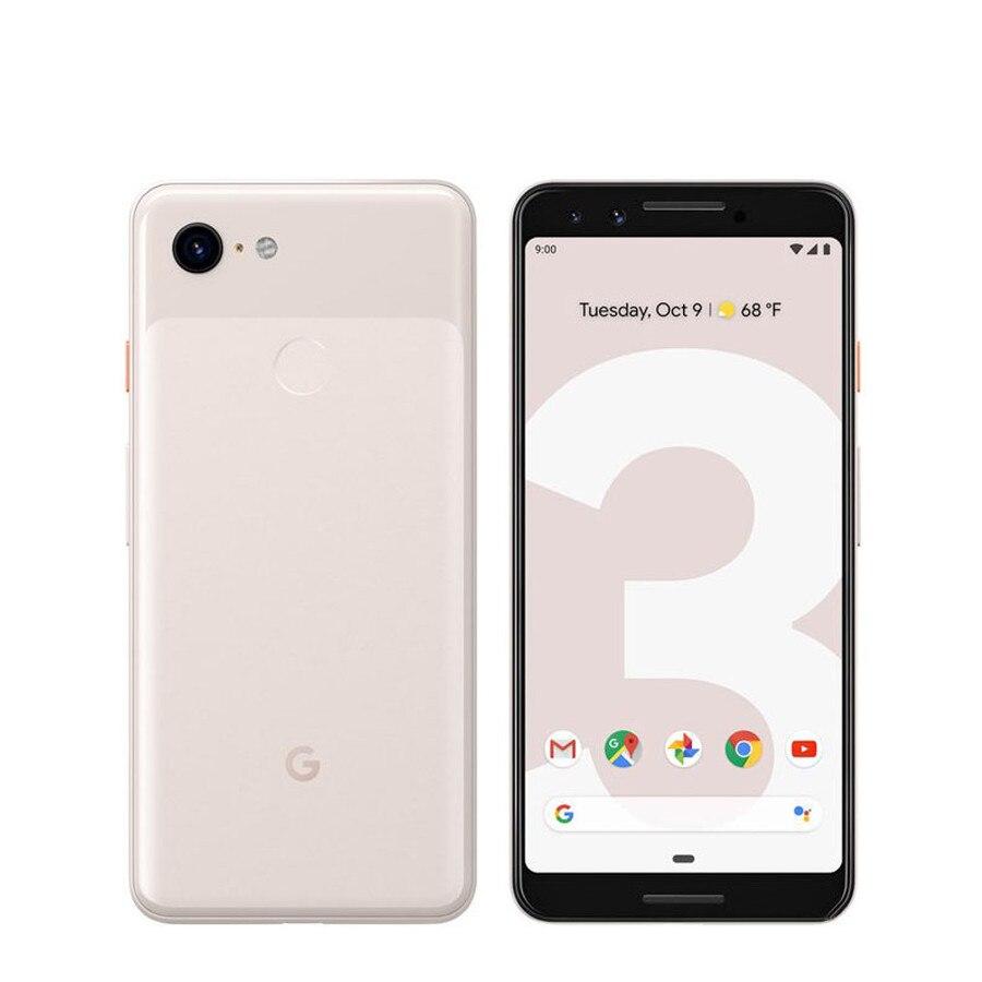 Смартфон Google Pixel 3 3XL мобильный телефон Snapdragon 845 4 Гб 64 Гб 128 ГБ 5,5 дюймов Восьмиядерный Andorid 9