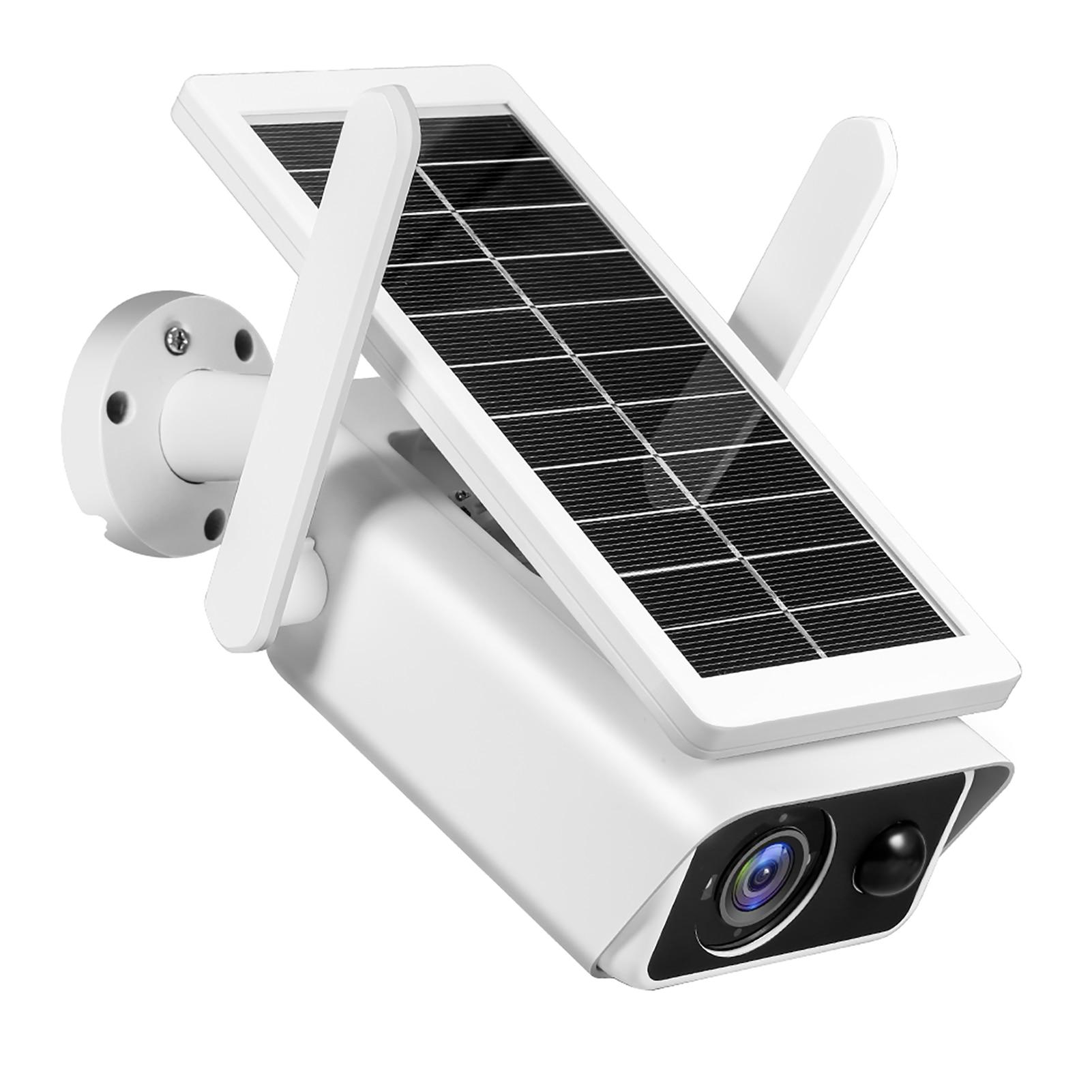 كاميرا مراقبة خارجية تعمل بالطاقة الشمسية بدقة 1080 بكسل ، وكاميرا أمان منزلية لاسلكية مع بطارية قابلة لإعادة الشحن بدقة 2 ميجابكسل وكاشف حركة ...