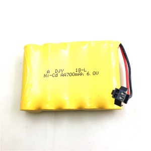 Upgraded 7.4V 700mAh 15c Battery SM Plug & USB Charging Cable For Fy001 Fy002 RC Car Spare Parts