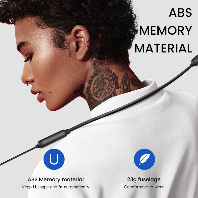 Wireless Earphone Neckband Headphone Waterproof Headset Blutooth Sports Earpiece with Mic Earbuds for iPhone Xiaomi Samsung Fone enlarge