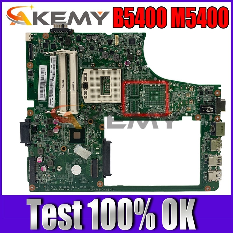 Akemy DA0BM5MB8D0 90004617 لينوفو B5400 M5400 نموذج BM5 اللوحة المحمول HM86