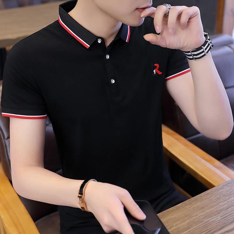 Хлопковые мужские рубашки поло с коротким рукавом 2021 модные новые мужские спортивные футболки поло Майки Golftennis размера плюс 5XL Camisa Polos, Homme
