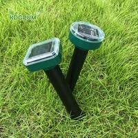 Solar Ultrasonic Garden Repellers Mole Repellents Rodent Animal Snake Mice Rat Pest Control Outdoor Repellent Rain-proof