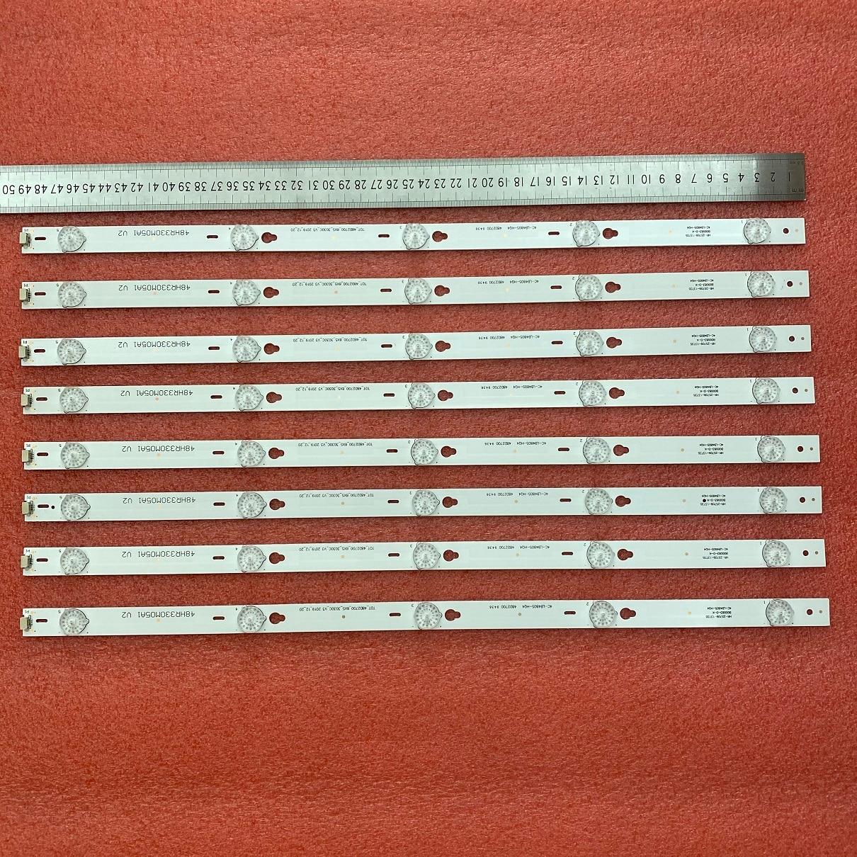 8pcs/set LED Backlight strip For THOMSON 48FA3203 48FA5413 48FA5403 48FS3750 48FA3204 48FS3003 4C-LB4805-YH1CK HQ4 LE48M4S1
