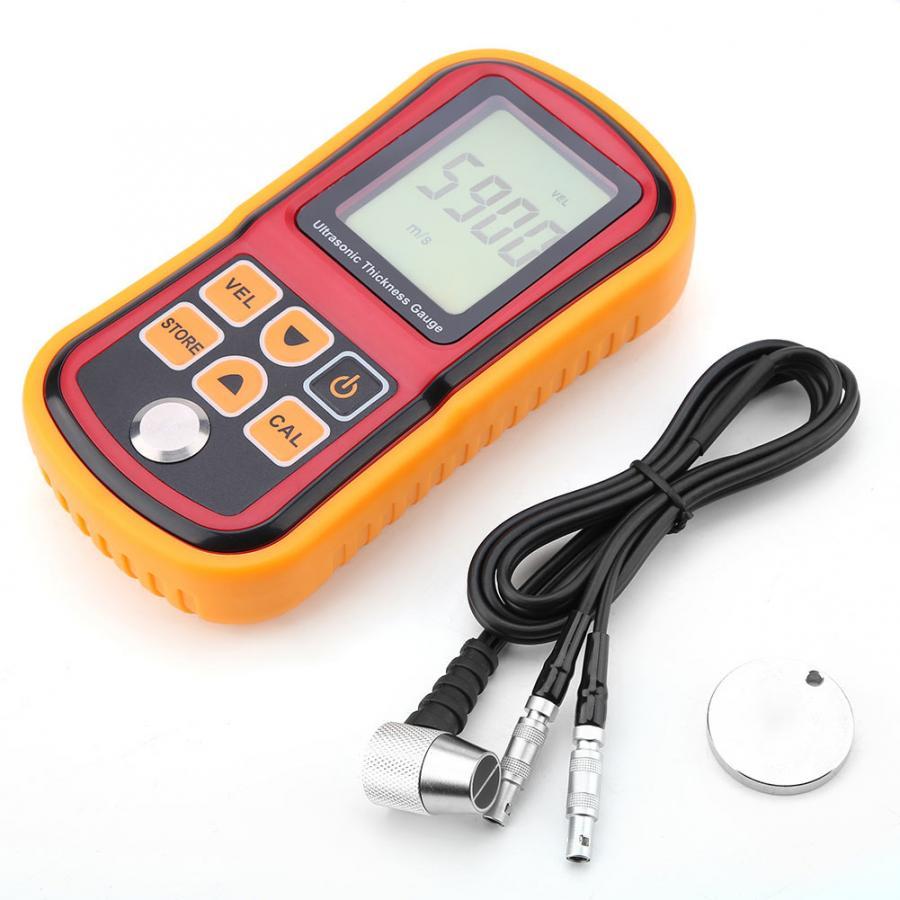 Ultrassônico do Teste da Largura de Aço do Calibre 1.2-220mm da Espessura de Gm100 Monitor Digitas.