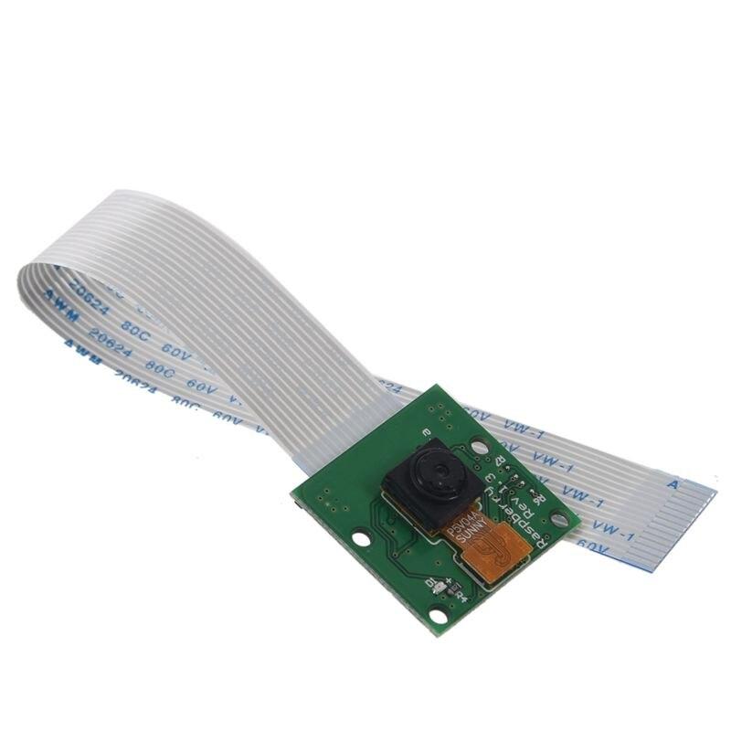 Новая плата модуля камеры 5MP веб-камера видео 1080p 720p для Raspberry Pi 3 Green
