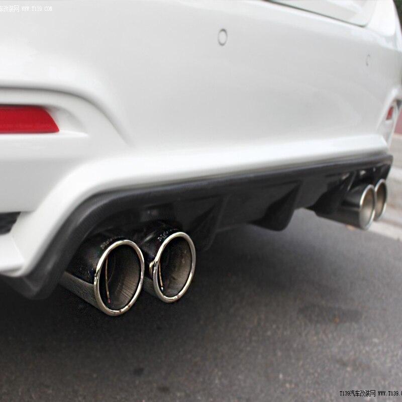 M3 M4 Performance style Carbon Fiber Rear Bumper Diffuser for BMW F82 M4 F80 M3 2014-2015