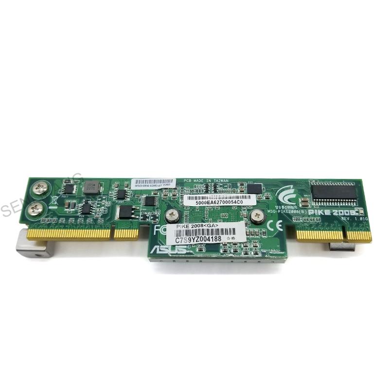 ل بايك 2008 ل ASUS بايك 2008 LSI 8-Port SAS II SATA 6.0 Gbps بطاقة غارة TESED تعمل بشكل جيد