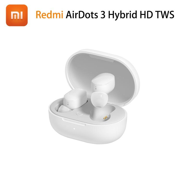 Xiaomi Redmi AirDots 3 Hybrid AptX HD TWS Earphone TWSEJ08LS 30h Life Has Case 7h Solo Bluetooth 5.2 Low Latency Wearing Detect