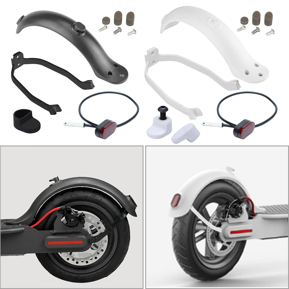 Kick Scooter Replacement Parts Mudguard Bracket Set Outdoor Electric Scooter Rear Fender Portable Sc