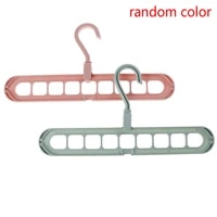 plastic scarf clothes organizer wardrobe racks multi port support circle clothes hanger free rotate hangers drying rack