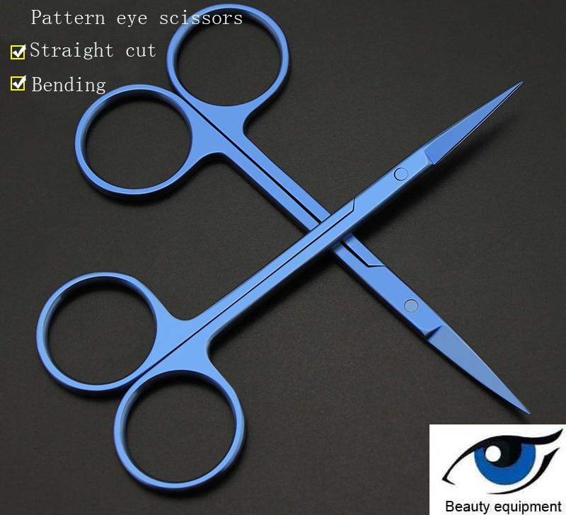 Express eye-مقص من سبائك التيتانيوم ، معدات التجميل ، جراحة العيون ، جفن مزدوج ، عيون مفتوحة