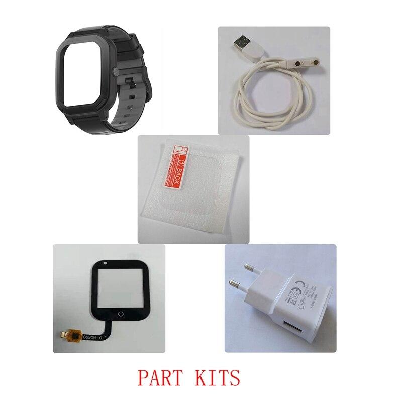 Accessories of Kids GPS Smart Watch Wonlex KT20: Watch Strap/Case/Cable/Button/Buckle/Screw Accessories for Wonlex Watches
