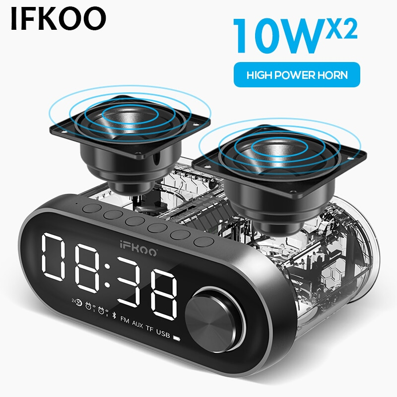 IF-Q5 Altavoz Bluetooth inalámbrico altavoz Dual HIFI sonido envolvente Subwoofer coche Audio Mini altavoz hogar gran volumen nuevo Radio