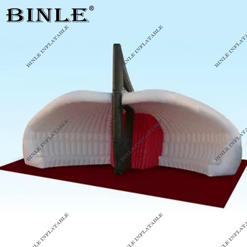 خيمة كبيرة قابلة للنفخ في الهواء الطلق ، أكسفورد ، VIP ، مأوى للمناسبات التجارية ، للحفلات والرقص