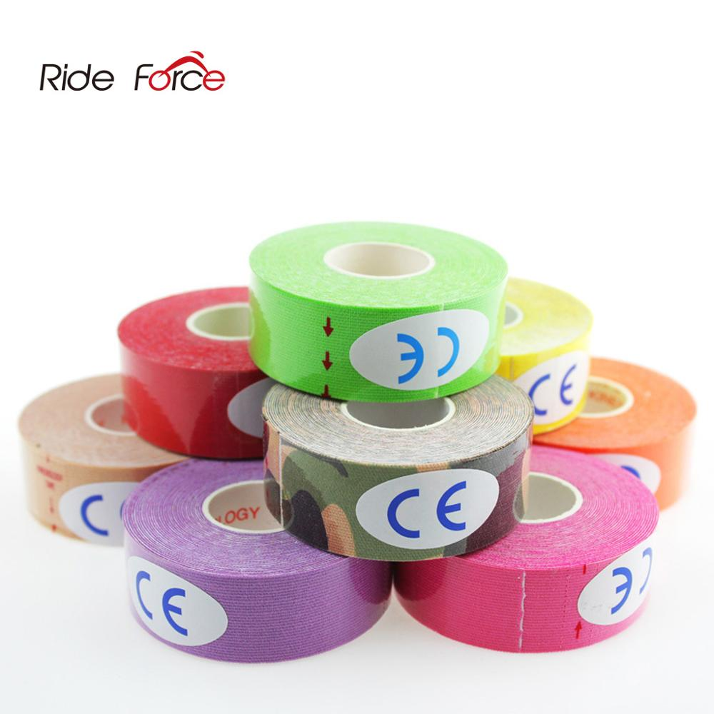 2.5cm*5m Elastic Sport Safety Muscle Tape Roll Muscle Adhesive Bandage Protective Gear Knee Elbow Br